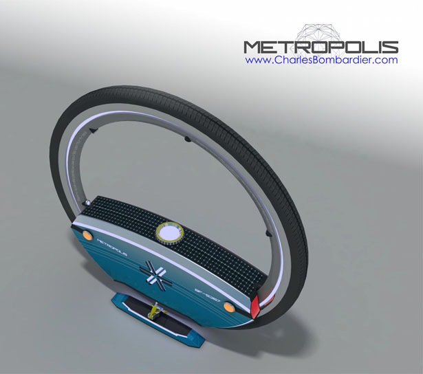 Metropolis : The Empathic Police Drone by Charles Bombardier and Adolfo Esquivel