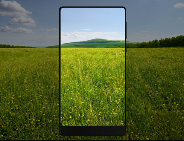 Mi MIX : Revolutionnary Edgeless Smartphone for Xiaomi by Philippe Starck