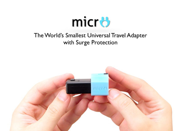 MICRO - The World's Smallest Universal Travel Adapter
