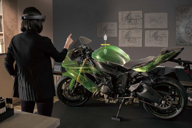 Microsoft HoloLens for Holographic Computing