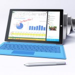 Microsoft Surface Pro 3 Tablet Features 12-inch Display and Multi-Position Kickstand