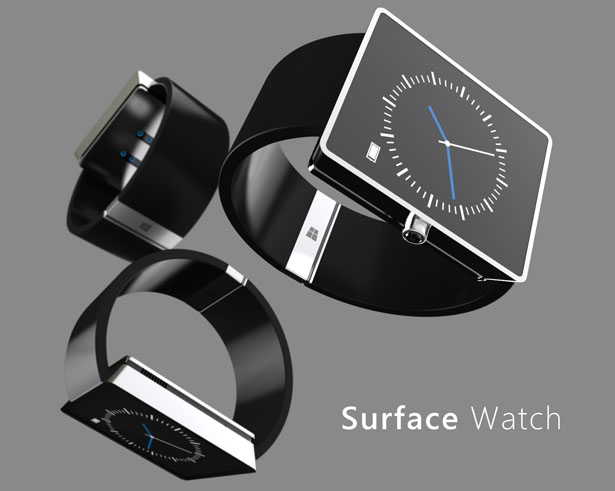 Surface Watch Concept Proposal for Microsoft