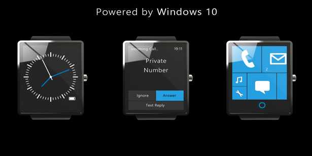 Microsoft Surface Watch by Sean McConnell