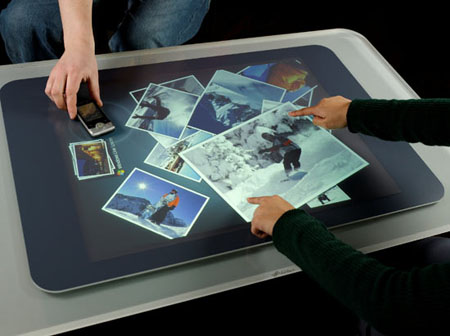 microsoft touchscreen surface