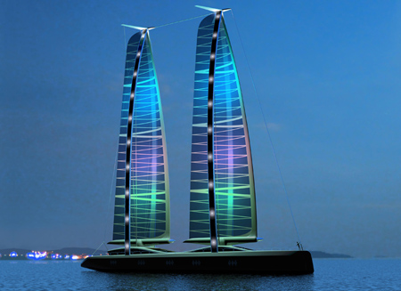 Mides Design Green Jet Yacht, Sailing To The Future …