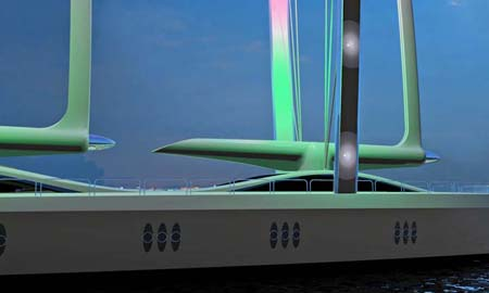 mides design green jet luxury yacht