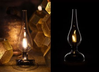 Mori London Midnight Oil Lamp Captures The Essence of Vintage Oil Lamp and Brings It to Modern World