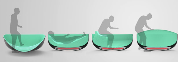Mimic Adaptable Tub by Horacio M. Pace Bedetti