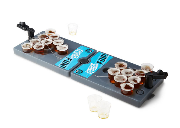 Mini Beer Pong Travel Set by Derek Dahl and Sam Buss