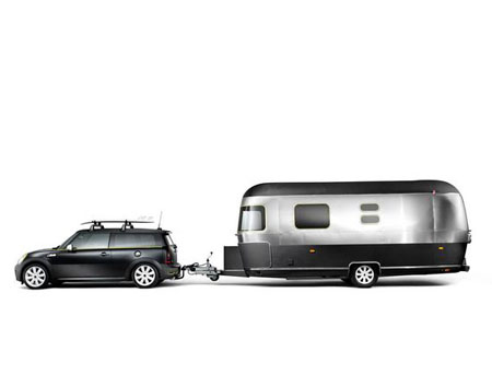mini cooper s clubman airstream lounge concept