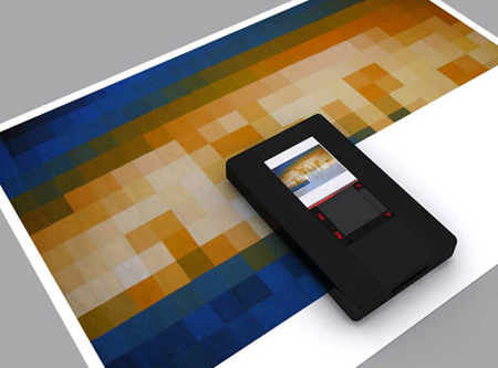 Mini Giant Concept Printer : No More Ink Cartridges and Ribbons