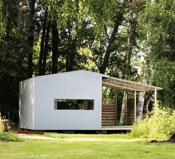 Mini House Concept by Jonas Wagell Design & Architecture