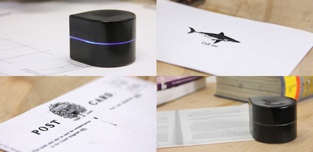 Mini Mobile Robotic Printer by Zuta Labs