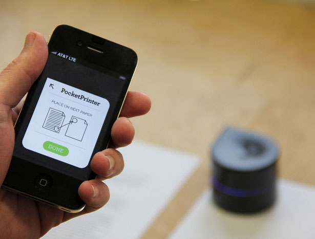 Mini Mobile Robotic Printer : Print Your Documents Anytime, Anywhere!