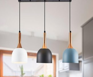 Mini Modern Pendant Light Design : It's Simple Yet Complements The Room