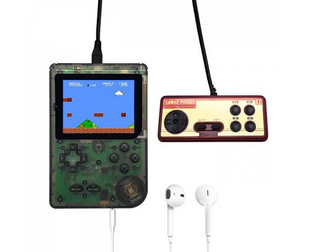 FC280 Nostalgic Mini Handheld Game Console Handle