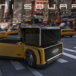 Mini Square Concept Pickup Truck by Hawon Jang