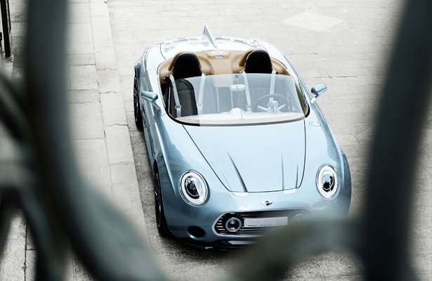 Mini Superleggera Vision Electric Roadster