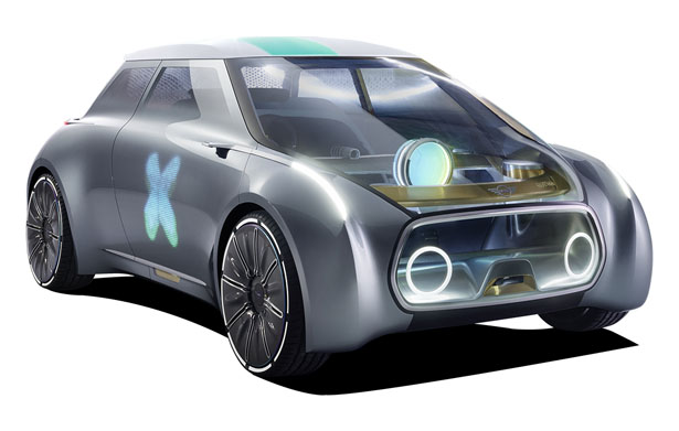 Mini Vision Next 100 Concept Car