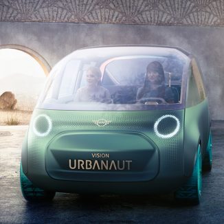 "Futuristic BMW MINI Vision Urbanaut Features ""Clever Use of Space"" Design Theme"