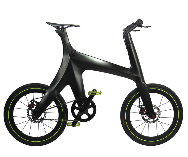 Minimal Carbon City Bike