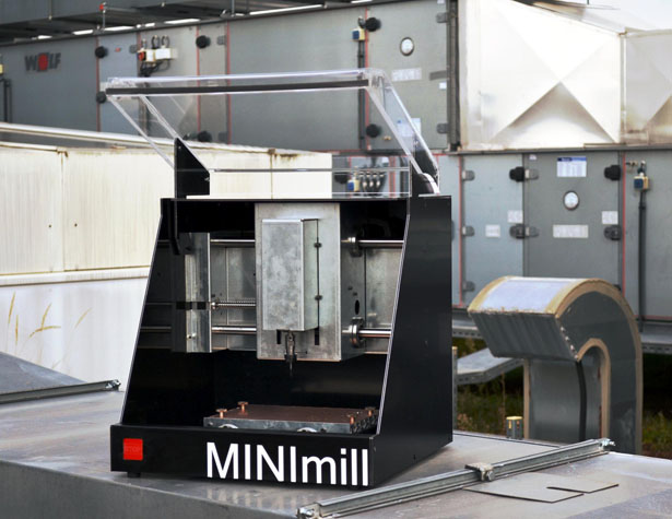 MINImill CNC Machine Brings Fully Automated Manufacturing on Your Desktop by Jakob Neuhauser, Thomas Schiefermair, and Martin Viereckl