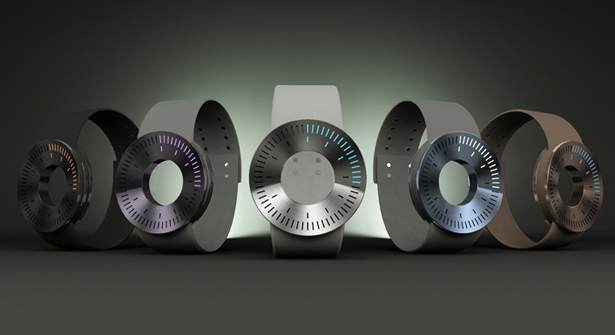 Minimo Watch - Aluminum LED Watch Design for TokyoFlash