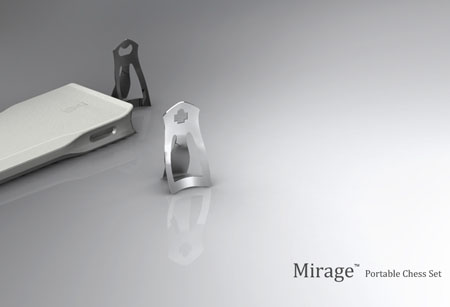 Mirage Portable Digital Chess Set by Pengtao Yu