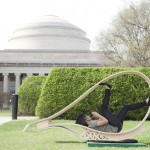 MIT Soft Rockers : Smart, Clean Energy Charging Stations Disguised as Outdoor Rocking Lounge Furniture