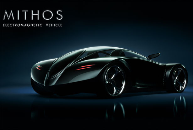 MITHOS Electromagnetic Vehicle by Tiago Miguel Inacio