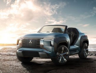 Mitsubishi MI-TECH Hybrid SUV Concept Gives You Confidence Over All Terrain in Light and Wind