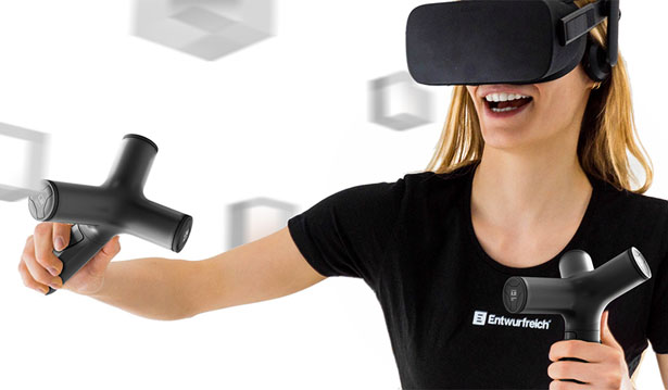 ENTWURFREICH Mixed Reality Controller (MRC) Concept for Better Experience in Virtual World