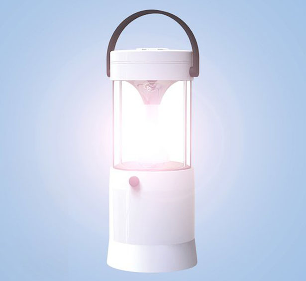 Mizusion Saltwater-powered LED Lantern