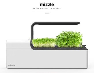Mizzle – Smart, Tabletop Microgreen Grower for Home Gardening