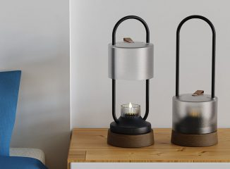 MLO Soothing Bedside Oil Lamp to Help You Relax Before Going to Sleep