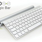 Mobee Technology Presents The Magic Bar To Recharge Apple Bluetooth Keyboard & Magic Trackpad