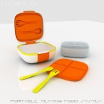 MO:BEN is A Portable Food Container That Can Heat-Up Your Food