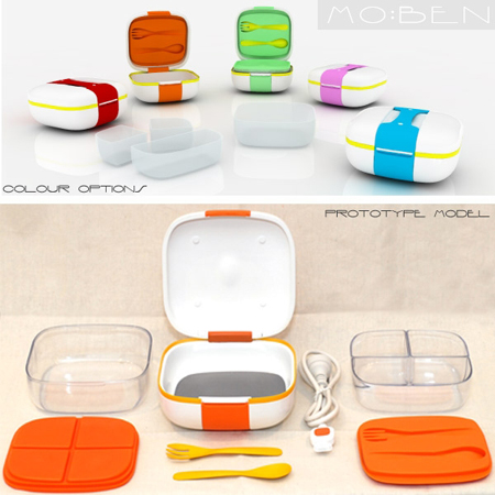 mo:ben portable food container
