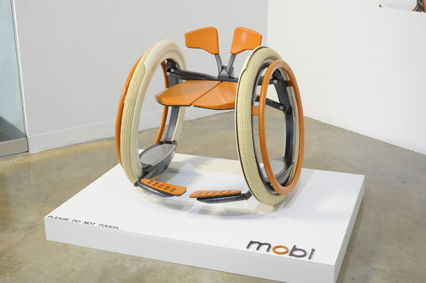 Mobi Electric Folding Wheelchair by Jack Martinich