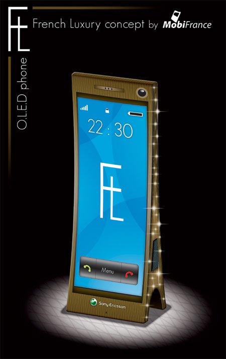mobiefrench luxury mobile phone concept