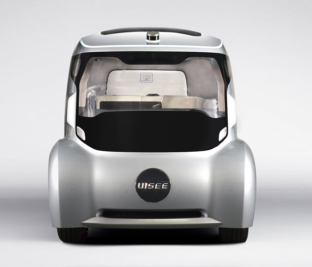 Mobile City Cabin: Futuristic Self-Driving Vehicle by UISEE