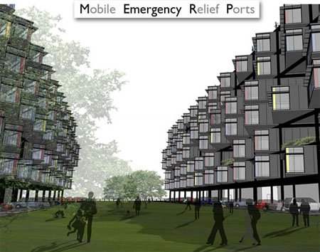 Future Mobile Emergency Relief Ports