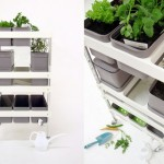 Mobile Food Garden Improves Urban Living Gardening Experience