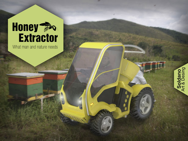 Mobile Honey Extractor by Tebi Soldano