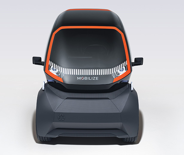 Mobilize EZ-1 Prototype Vehicle for Shared Urban Mobility by Renault