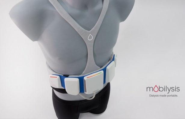 Mobilysis : Portable Dialysis System Allows Patients to Have Active and Productive Lives
