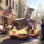 Mobuno Urban Mobility Concept Vehicle - Futuristic Yet Realistic Project