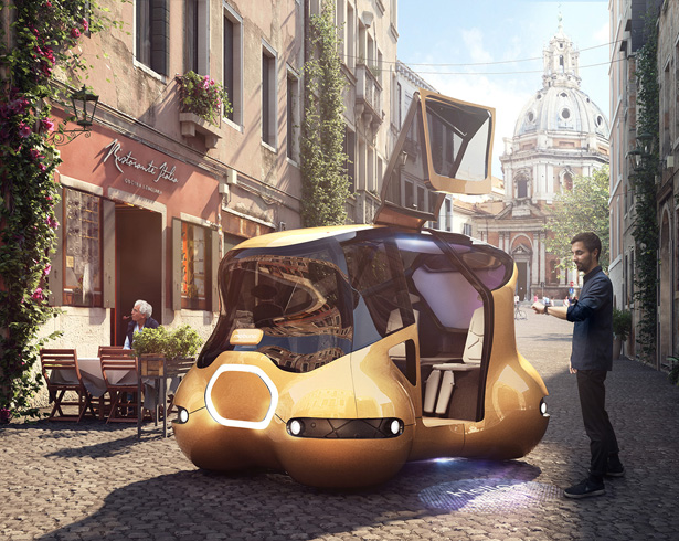 Mobuno Urban Mobility Concept Vehicle by XOIO and IUM