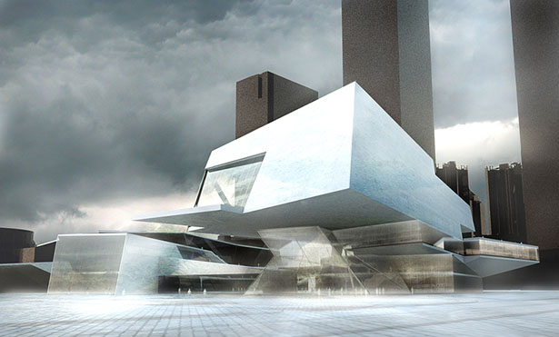Mocape Building by Matteo Cainer Architects