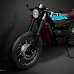 Model Electric Cafe Racer 1 by Pablo Baranoff Dorn and Alex Guliyants